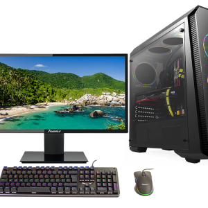 Computador Gamer Pro Janus Intel Core i5 Ram 8Gb Disco Solido 480Gb Monitor Janus IPS 24″