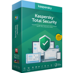 Kaspersky Total Security Licencia Base ESD por 1 año – 1 Dispositivo